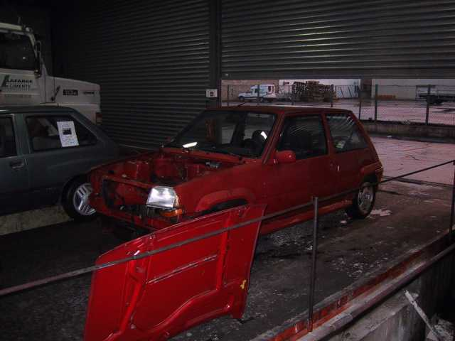 Démontage avant Renault Super 5 GT Turbo